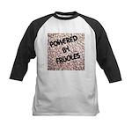 Powered by Frijoles Kids Baseball Jersey