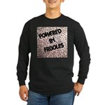 Powered by Frijoles Long Sleeve Dark T-Shirt