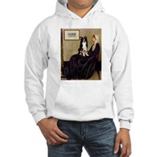 Whistlers Mother & Border Collie Hoodie