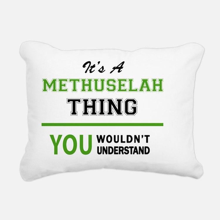 Cute Methuselah Rectangular Canvas Pillow
