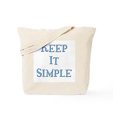 Keep It Simple 5 Tote Bag