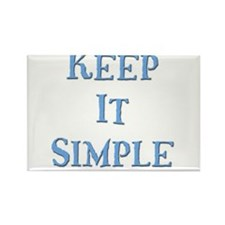 Keep It Simple 5 Rectangle Magnet