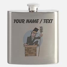 Custom Chimney Sweep Flask