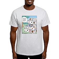 Adding a Deck (of cards) Ash Grey T-Shirt