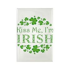 KISS ME, I'M IRISH Rectangle Magnet