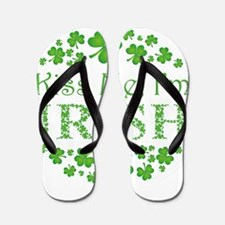 KISS ME, I'M IRISH Flip Flops