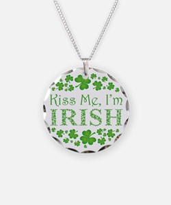 KISS ME, I'M IRISH Necklace