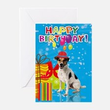 Jack Russell Birthday Greeting Cards (pk Of 20)