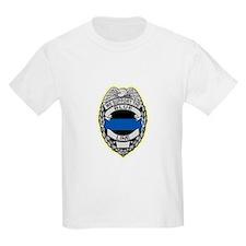 Cute Blue line police T-Shirt