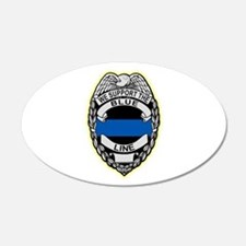 Cool Police Wall Decal