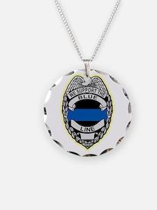Unique Police badge Necklace