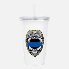 Funny Law enforcement Acrylic Double-wall Tumbler