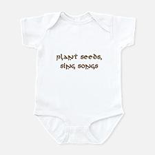 Plant Seeds, Sing Songs 9 Infant Bodysuit