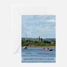Warkworth Castle Birthday Card Greeting Cards