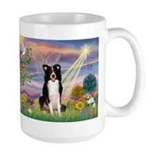 Cloud Angel & Border Collie Mug