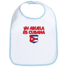 Mi Abuela Es Cubana Shield Bib