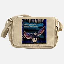 home of the free.jpg Messenger Bag