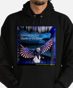 home of the free.jpg Hoodie