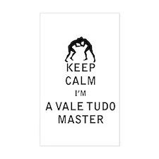 Keep Calm I'm a Vale Tudo Master Decal