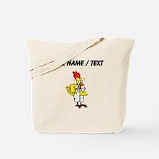 Custom Chicken Chemist Tote Bag
