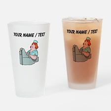 Custom Cashier Drinking Glass