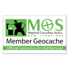 MGS Geocache Decal