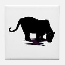 Black Panther Tile Coaster