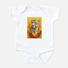 Cheetah Portrait Infant Creeper