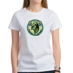 Green Heart Medallion Women's T-Shirt