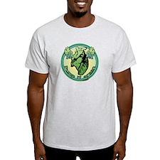 Green Heart Medallion T-Shirt
