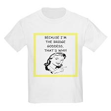 Cute Bridge game T-Shirt