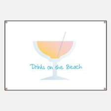 Drinks On The Beach Banner