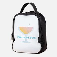 Drinks On The Beach Neoprene Lunch Bag