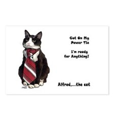 Alfred The cat Postcards (Package of 8)