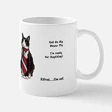 Alfred The cat Mugs