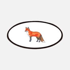 RED FOX Patches