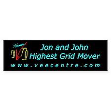 Jon & John Bumper Sticker