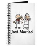 Just Married Cake Journal