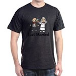 Just Married Cake Dark T-Shirt