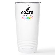 GOATS Make me Happy Travel Mug