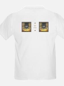 Wolf, 'Shaman's Dream' ~ Kids T-Shirt