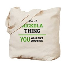 Cool Nickolas Tote Bag
