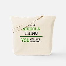 Unique Nickolas Tote Bag
