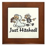 Just Hitched Framed Tile
