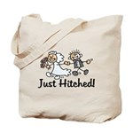 Just Hitched Tote Bag