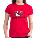 Just Hitched Women's Dark T-Shirt
