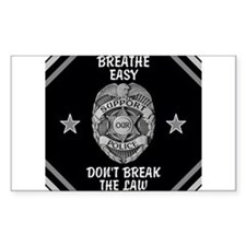 Breathe Easy! Decal