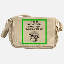bocce joke Messenger Bag