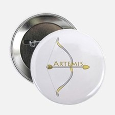 "Bow of Artemis 2.25"" Button (10 pack)"