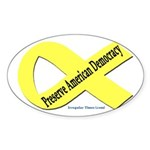 Preserve American Democracy Sticker